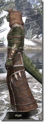 Argonian Homespun - Argonian Male Robe Side