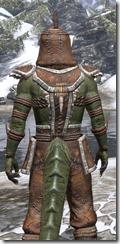 Argonian Homespun - Argonian Male Shirt Close Rear
