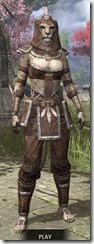 Argonian Homespun - Khajiit Female Shirt Front