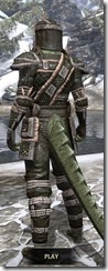Argonian Leather - Argonian Male Rear