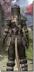 Argonian Leather - Khajiit Female Close Rear