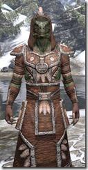 Argonian Linen - Argonian Male Robe Close Front