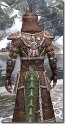 Argonian Linen - Argonian Male Robe Close Rear