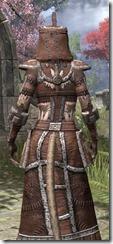 Argonian Linen - Khajiit Female Robe Close Rear