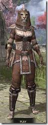 Argonian Linen - Khajiit Female Shirt Front