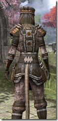 Argonian Orichalc - Khajiit Female Close Rear