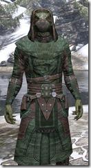 Assassins League Homespun - Argonian Male Robe Close Front