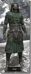 Assassins League Homespun - Argonian Male Robe Front