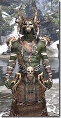 Barbaric Homespun - Argonian Male Robe Close Front