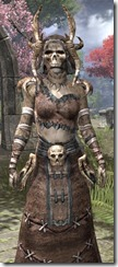 Barbaric Homespun - Khajiit Female Robe Close Front