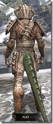 Barbaric Iron - Argonian Male Rear
