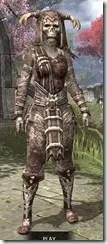 Barbaric Rawhide - Khajiit Female Front