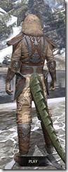 Celestial Rawhide - Argonian Male Rear