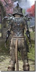 Daedric Iron - Khajiit Female Close Rear