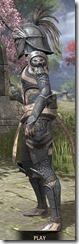 Daggerfall Covenant Iron - Khajiit Female Side