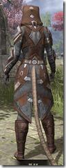 Dark Brotherhood Rawhide - Khajiit Female Rear