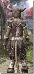 Draugr Iron - Khajiit Female Close Rear