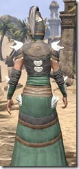 Anequina Homespun - Female Robe Close Rear