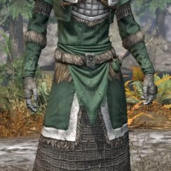 Icereach Coven Homespun - Female Robe Front