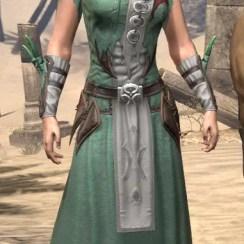 New Moon Priest Homespun - Female Robe Front