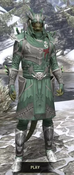 New Moon Priest Rawhide - Argonian Male Front