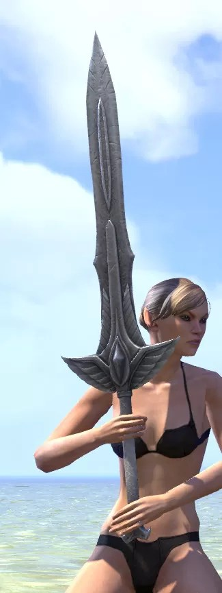 Ancestral High Elf Iron Greatsword 2