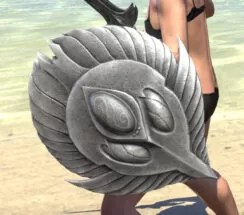 Ancestral High Elf Maple Shield 2
