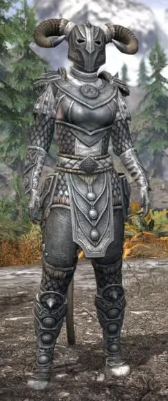 Ancestral Nord Iron - Khajiit Female Front