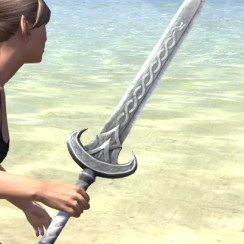 Ancestral Nord Iron Sword 2