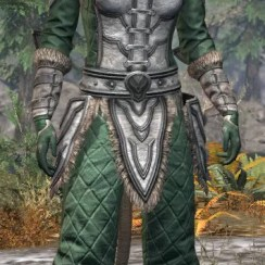 Ancestral Orc Homespun - Khajiit Female Shirt Front