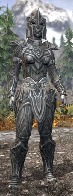 Ancestral Orc Iron - Khajiit Female Front