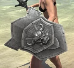 Ancestral Orc Maple Shield 2
