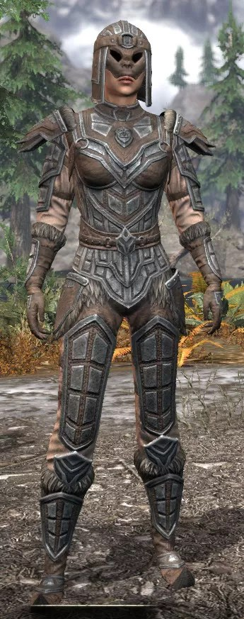 Ancestral Orc Rawhide - Female Front