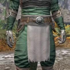 Blackreach Vanguard Homespun - Argonian Male Shirt Front