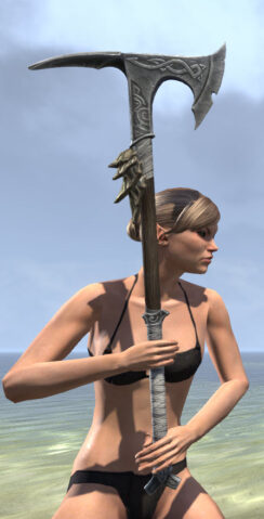 Blackreach Vanguard Iron Battle Axe 2