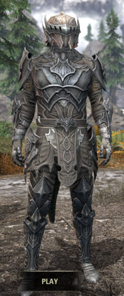 Greymoor Iron - Argonian Male Front