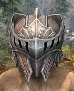 Greymoor Iron Helm - Khajiit Female Front
