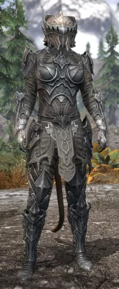 Greymoor Iron - Khajiit Female Front
