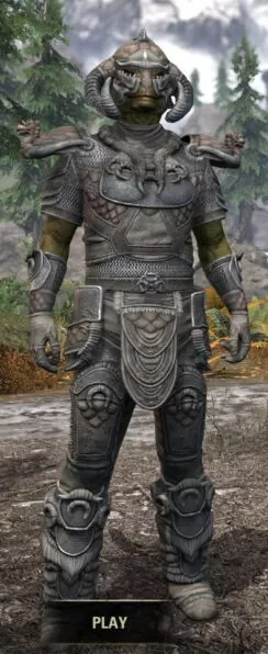 Sea Giant Iron - Argonian Male Front