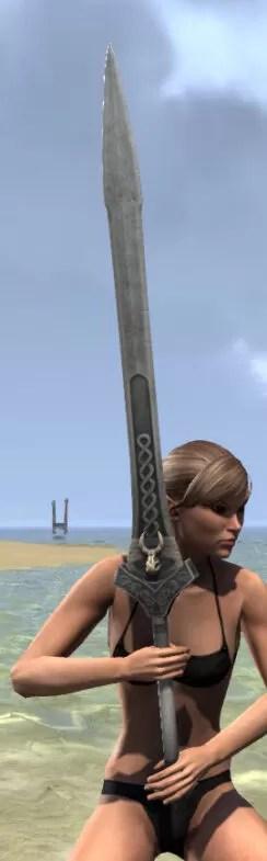 Sea Giant Iron Greatsword 2
