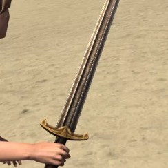 Wolf of Solitdue Replica Sword 2