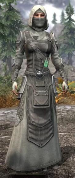 Hazardous Alchemy Honespun - Female Robe Front