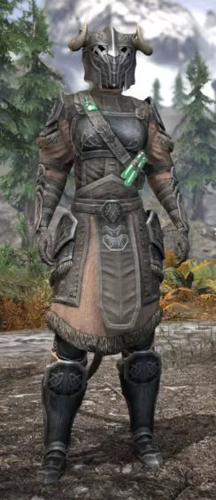 Hazardous Alchemy Iron - Khajiit Female Front