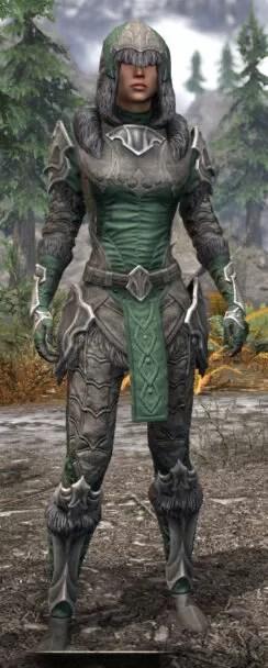 Thorn Legion Honespun - Female Shirt Front