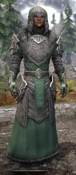 Thorn Legion Honespun - Male Robe Front