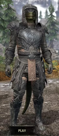Thorn Legion Iron - Argonian Male Front