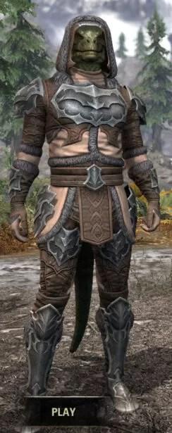 Thorn Legion Rawhide - Argonian Male Front