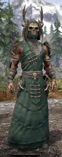 Ancestral Reach Homespun - Male Robe Front