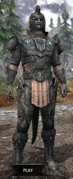 Arkthzand Armory Rawhide - Argonian Male Front