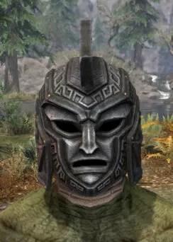Arkthzand Armory Rawhide Helmet - Argonian Male Front